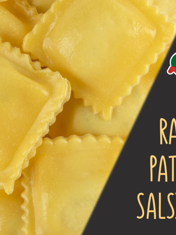 Ravioli patate e salsiccia